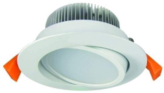 ICDLT13W  13 Watt tilting downlight