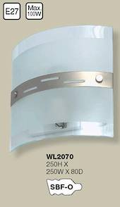 Square Glass Wall Light  (Click picture for details)